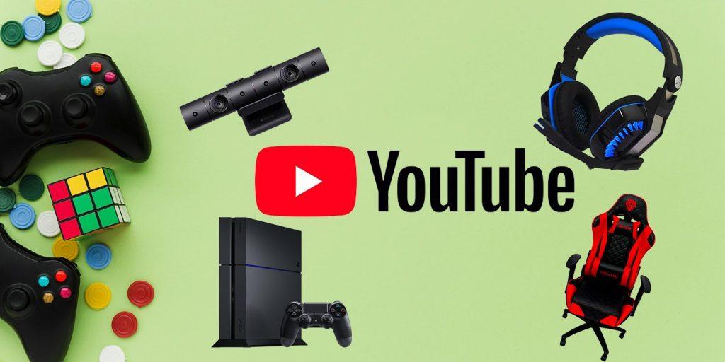 Peralatan Youtuber Gaming