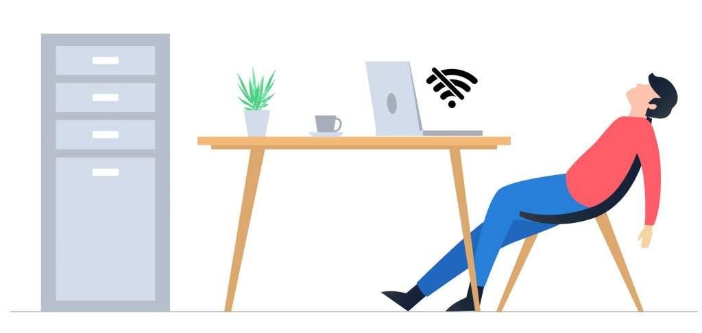 Laptop Tidak bisa konek wifi