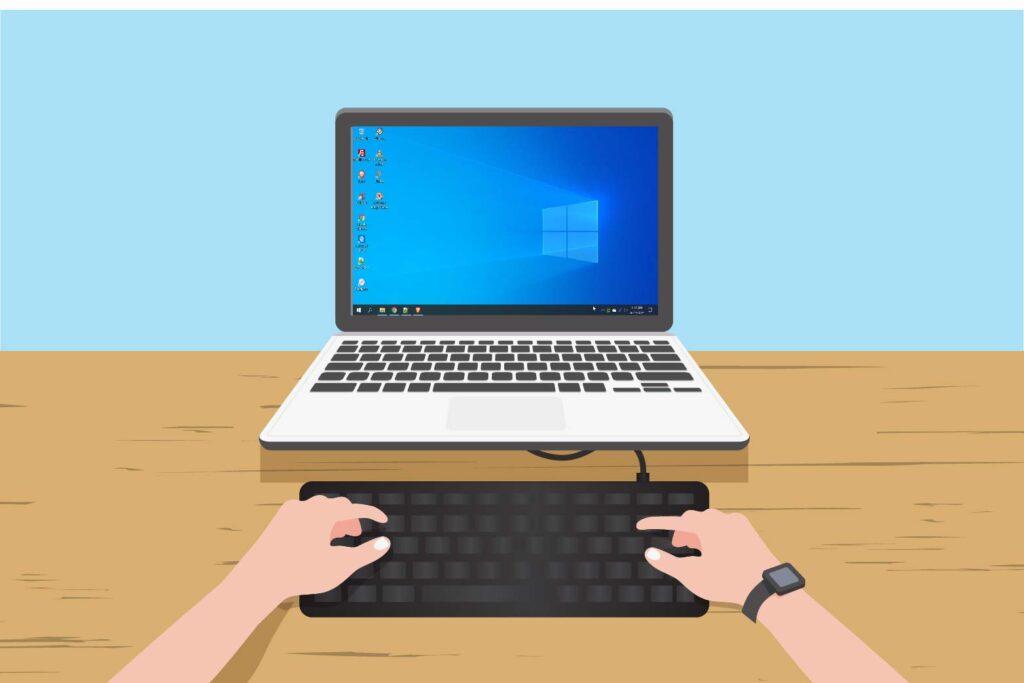 Mematikan Keyboard